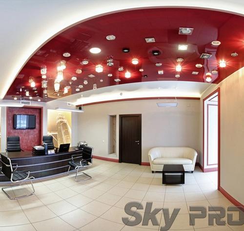 светильники в офисе SkyPRO в Валдае